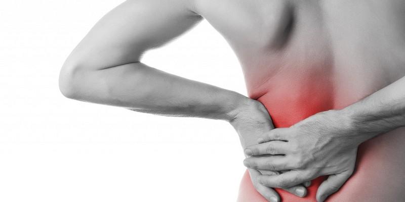 Schmerzen am rechten oder linken Schulterblatt