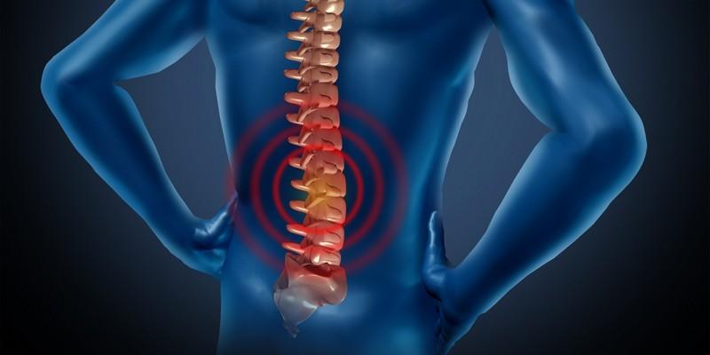 Behandlung von Schmerzen Laser